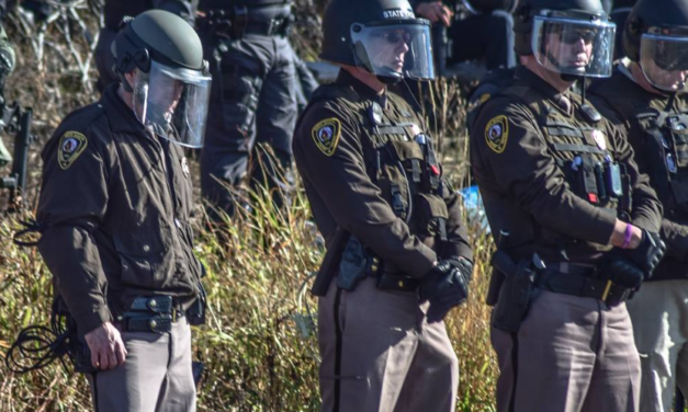 Police Turn In Badges Rather Than Incite Violence Against Standing Rock Protesters