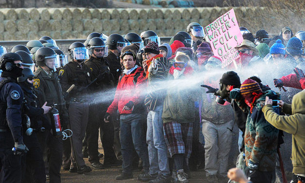 13yo Girl Shot in the Face, Elderly Man in Critical Condition as Police Assault DAPL Protesters