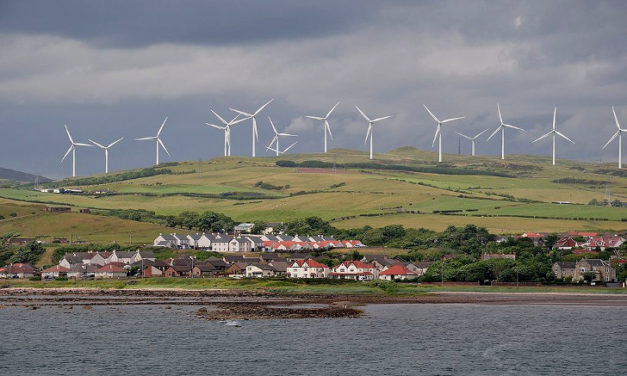 Scotland's Wind Turbines Could Power Almost Every Household for a Month
