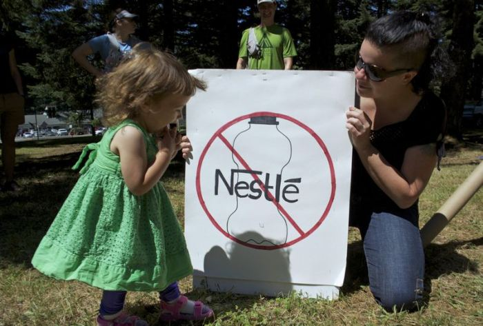 Petition: Deny Nestlé's Permit to Withdraw More Groundwater!