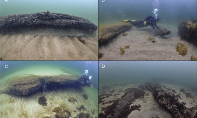 The 'Stone Age Atlantis': Stunning video reveals the 9,000-year-old settlement found submerged under the sea off Sweden