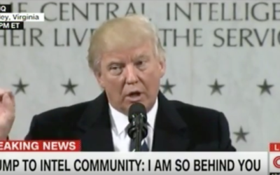 President Trump CIA Headquarters FULL SPEECH [VIDEO]