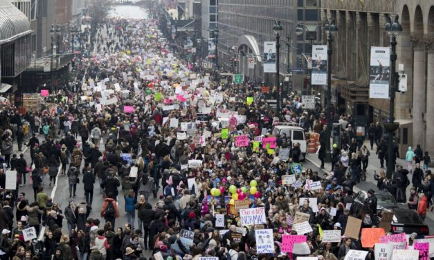 Pictures From Women's Marches Around the World