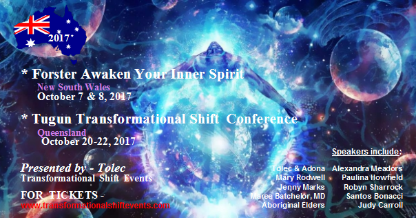 Transformational Shift Conferences October 2017 – Australia