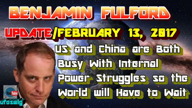 Benjamin Fulford – US and China are both busy with internal power struggles so the world will have to wait