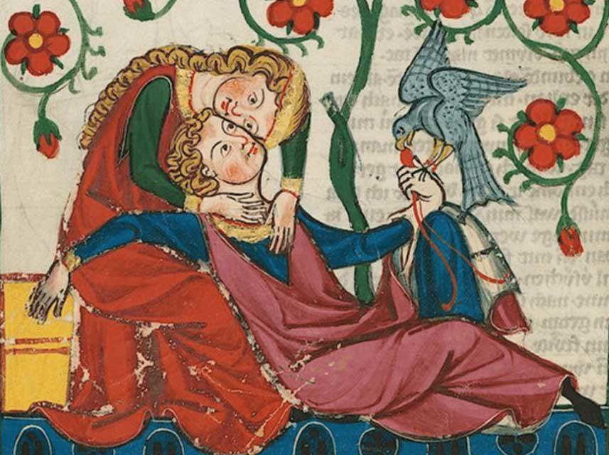 Some Top Tips for Valentine's Day … from Medieval Lovers