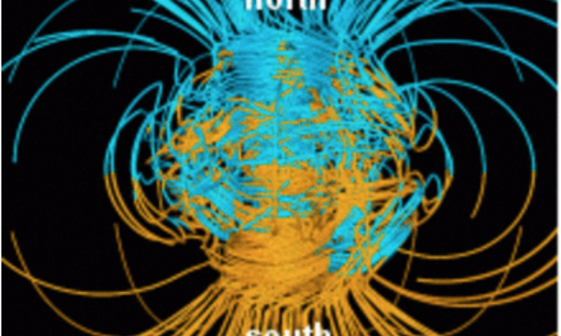 Does an anomaly in the Earth's magnetic field portend a coming pole reversal?