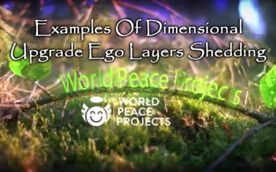 Examples Of Dimensional Upgrade Ego Layers Shedding by Chloe Hudson World Peace Projects [VIDEO]