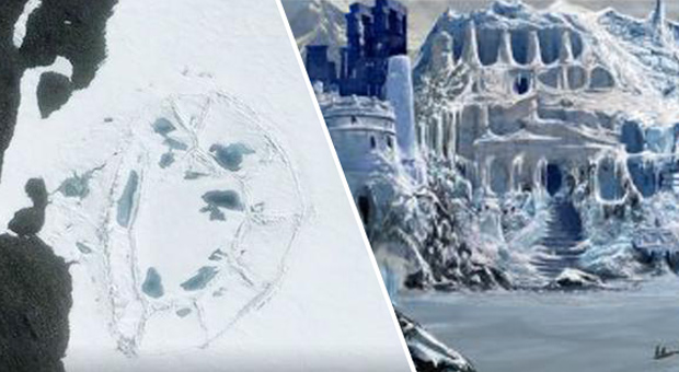 Mysterious 'Man Made' Oval Structure Discovered In Antarctica