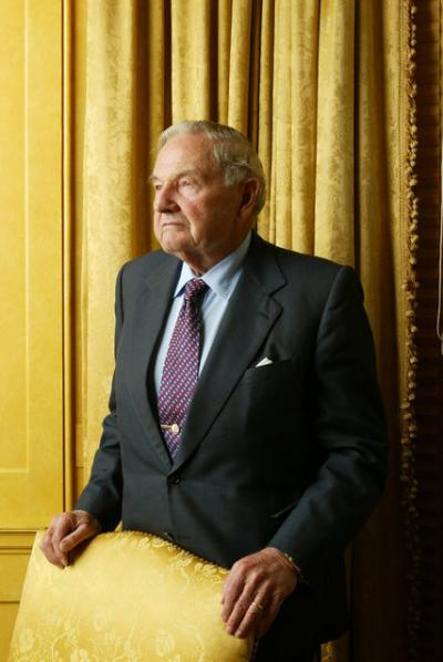 David Rockefeller, Former Head Of Chase Manhattan, Dies At 101