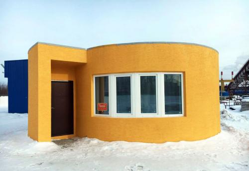 This House Was 3D-Printed In Under 24 Hours At A Cost Of Just $10,000