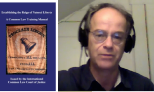 Kevin Annett's New Book: Establishing the Reign of Natural Liberty: A Common Law Training Manual