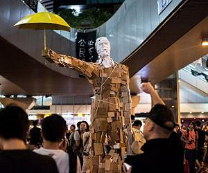 China watches Hong Kong vote as protests threatened