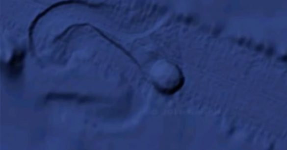 Massive Circular Object Appears to Move on Pacific Floor