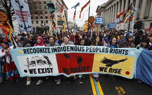 Largest march for native rights in DC ignored by the White House and mainstream media