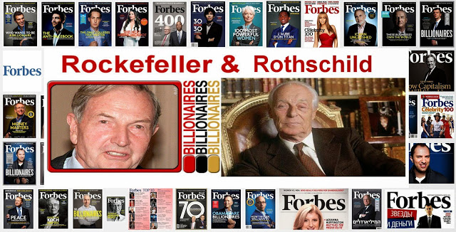 How the Rothschild-Rockefeller Empire Conquered the World