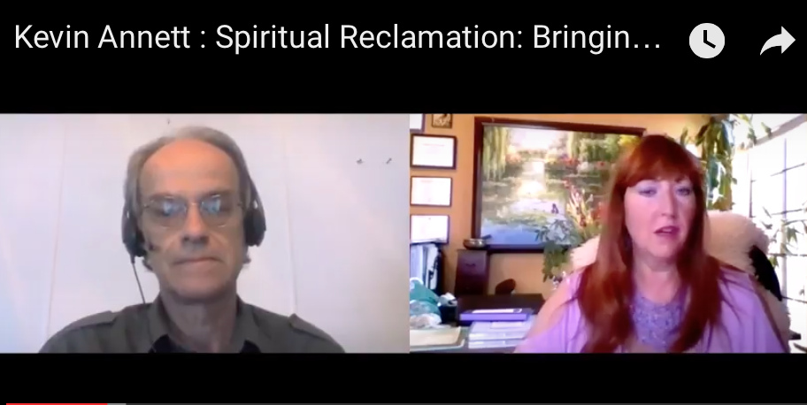 Kevin Annett :  Spiritual Reclamation: Bringing Down The Satanic Ninth Circle  [VIDEO]