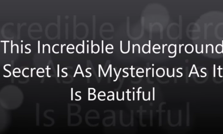 This Incredible Underground Secret Is As Mysterious As It Is Beautiful [VIDEO]