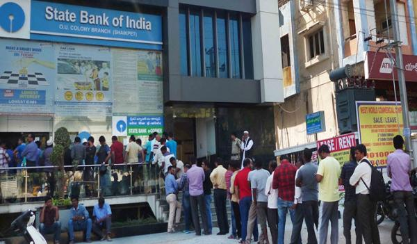 """Out Of Cash"" – More Than 90% Of India ATMs Run Dry"