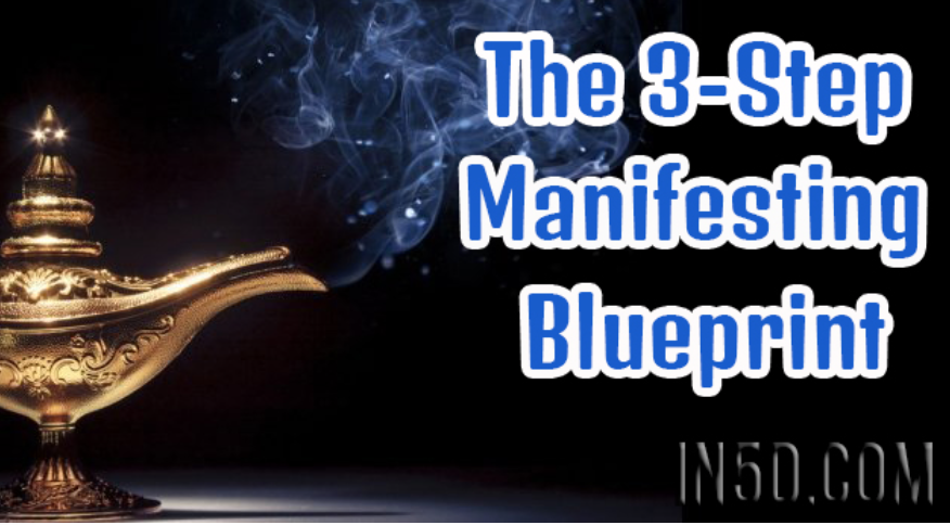 The 3-Step Manifesting Blueprint
