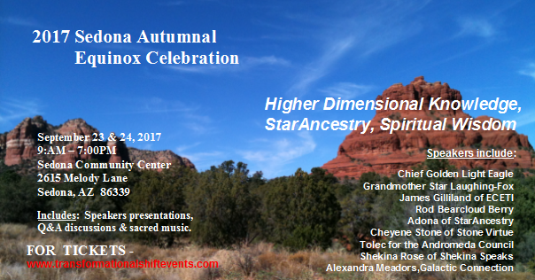 2017 Sedona Autumnal Equinox Celebration