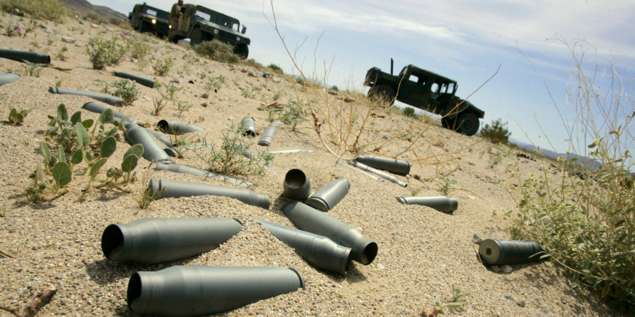 U.S. Military Is World's Largest Polluter – Hundreds Of Bases Gravely Contaminated
