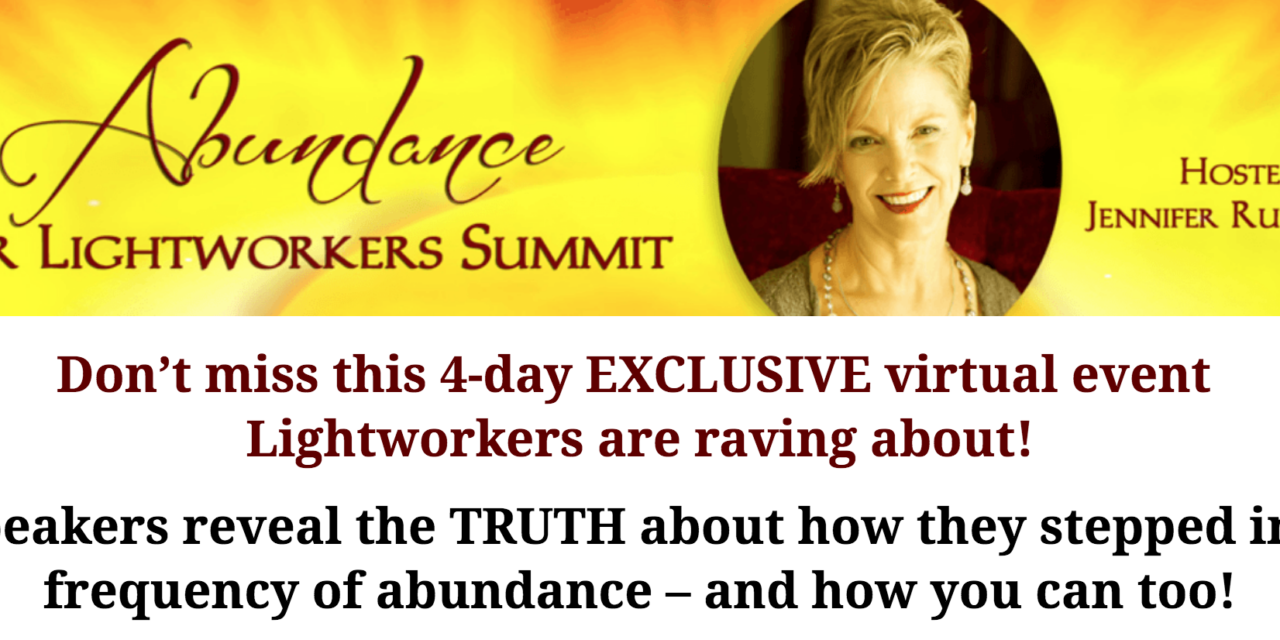 ABUNDANCE FOR LIGHTWORKERS SUMMIT