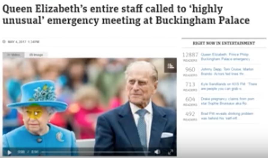 Queen Elizabeth's entire staff called to 'highly unusual' emergency meeting at Buckingham Palace [VIDEO]