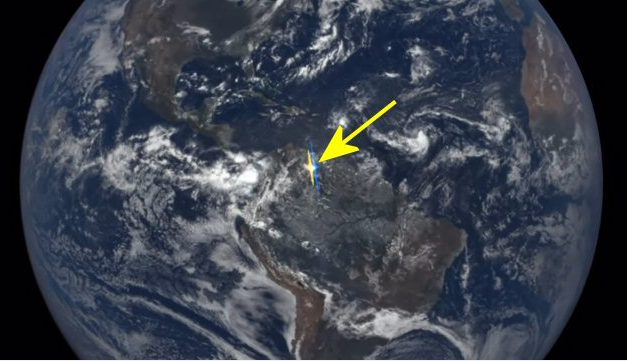 Mysterious flashes of light from Earth captured by NASA satellite