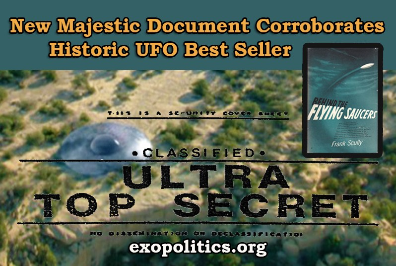 New Majestic Document Corroborates Historic UFO Best Seller