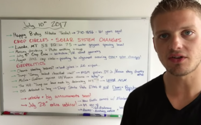 7.10 – Solar System Changes, New Crop Circles, Pedo-Elites Running Scared [VIDEO]