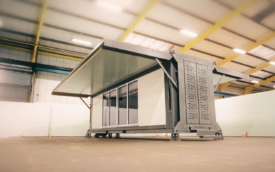 This mobile structure builds itself in under 10 minutes