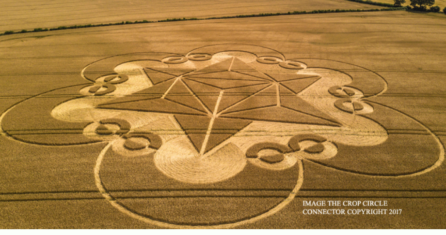 New Beautiful Crop Circle, Warminster, Wiltshire 18 July 2017