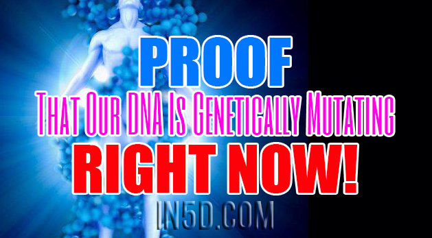Proof That Our DNA Is Genetically Mutating RIGHT NOW!