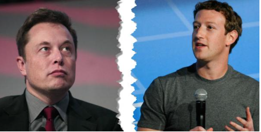 """Musk, Zuckerberg Trade Insults Over AI's """"Existential Threat"""""""