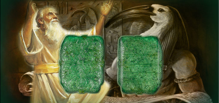 THOTH (known as ENOCH or SAURID) The Builder Of Great Pyramid Of Egypt According To Emerald Tablets