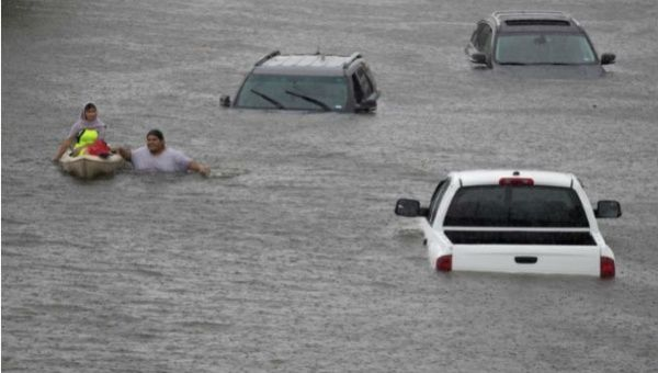 Harvey Causes Louisiana State of Emergency, Major Displacement in Texas