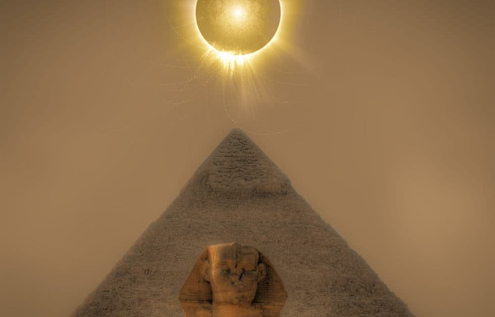 Eclipse Tunnel Effect ~ Sandwiched Between Two Powerful Eclipse Events