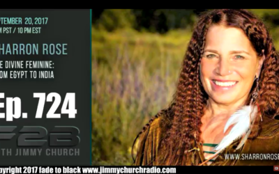 FADE to BLACK Jimmy Church w/ Sharron Rose : The Divine Feminine History : LIVE