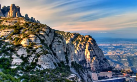 The Mysterious Montserrat Mountain of Spain [VIDEO]