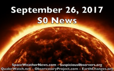 Sun Surging Plasma, Earthquakes Continue | S0 News Sep.26.2017 [VIDEO]