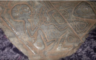 Mysterious artifacts with engravings of 'Aliens' and 'Spaceships' unearthed in Mexican Cave