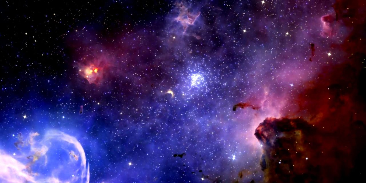 Strange signals were just spotted coming from a distant galaxy