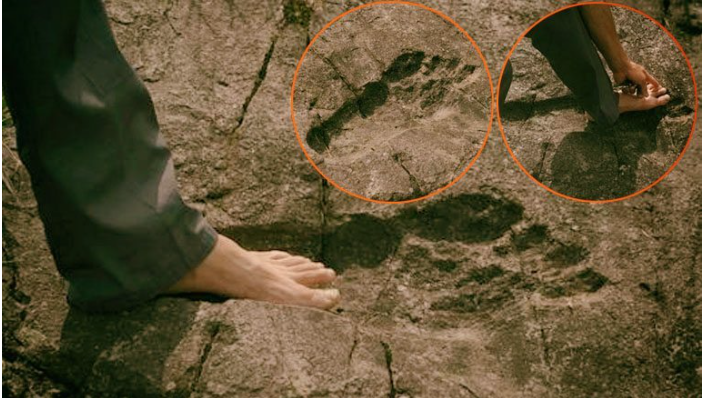 Giant Humanoid Footprints Found in South Africa and China [2 Articles]