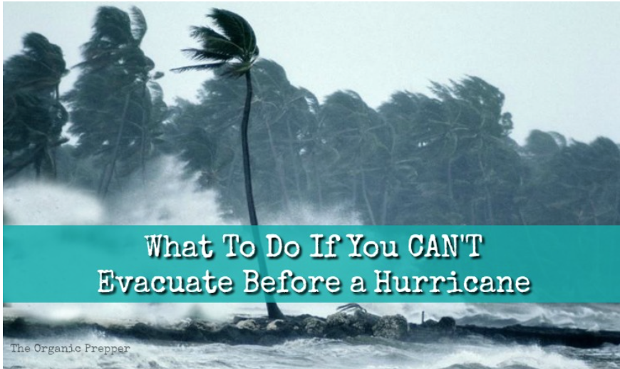 What To Do If You CAN'T Evacuate Before a Hurricane