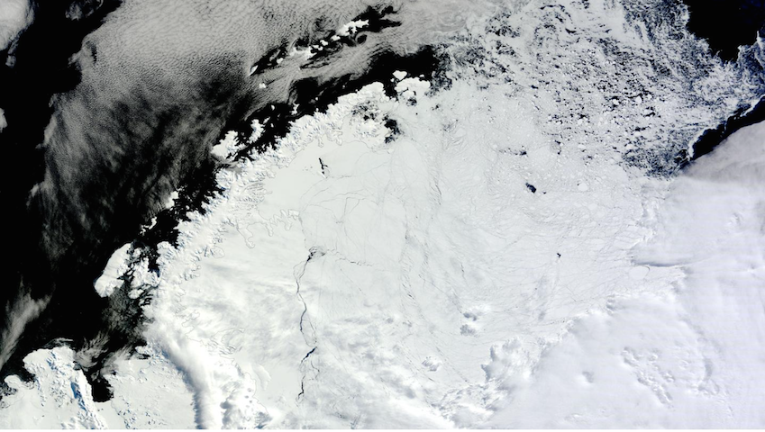 Giant, Mysterious Hole Has Opened Up in Antarctica