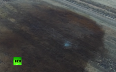 Keystone Pipeline shut off after 210,000 gallons of oil spilt into agricultural land in Dakota [VIDEO]