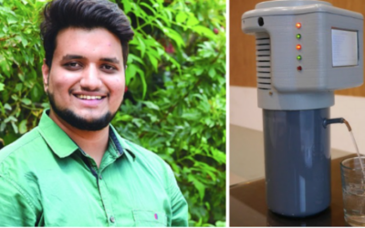 3D-Printed Invention Produces 2 Liters Of Drinking Water Each Hour Out Of Thin Air