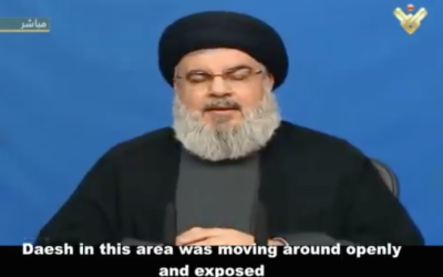 "Nasrallah (Hezbollah) Accuses US Of ""Daesh Conspiracy"" As Feared 'Tehran-To-Beirut Land Bridge' Is Established"