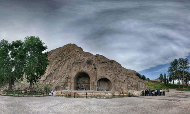 Histories of the Sassanian Kings : Rivalry with the Romans Are Set in Stone at the Taq-e Bostan Monument